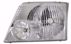 NEWMAR MOUNTAIN AIRE 40ft 2004 2005 2006 LEFT DRIVER HEADLIGHTS HEAD