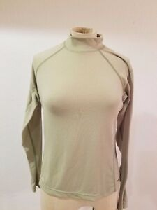 c0c37e745 Details about The NORTH FACE Tops Sz S Vapor Wick Green Long Sleeve  Pullover Shirt Women's