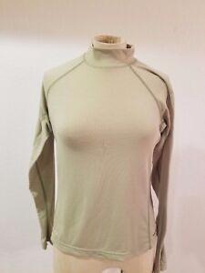 00d886136 Details about The NORTH FACE Tops Sz S Vapor Wick Green Long Sleeve  Pullover Shirt Women's