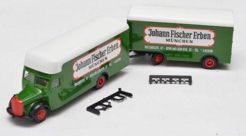 Albedo modelos mercedes Man camiones Truck remolcarse gliederzug 1:87 para seleccionar
