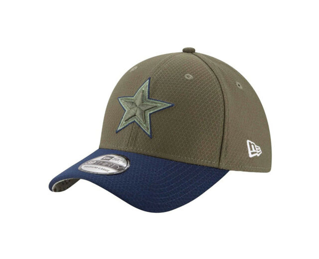 ca762846 NEW ERA 39Thirty NFL Dallas Cowboys STS 17 Green Navy Stretch Fit Cap Men  Hat