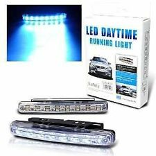 Car Daylight Day Time Daytime Running Light DRL 8 LED Super White Bright Light