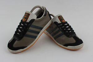 the latest c2c74 bb005 Image is loading VINTAGE-ADIDAS-ORIGINALS-THE-SNEEKER-TRAINER-U-K-4-