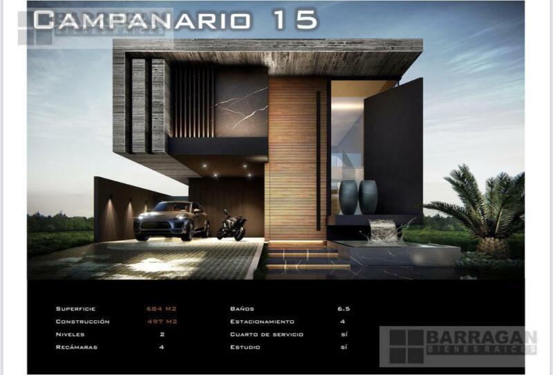 Terreno en Venta con Proyecto en El Campanario, Querétaro