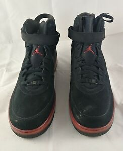 info for de456 4db07 Image is loading Nike-Air-Jordan-Fusion-6-Black-Varsity-Red-