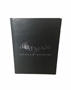 Batman-Arkham-origins-edicion-limitada-libro-guia-de-estrategia-sin-cubierta