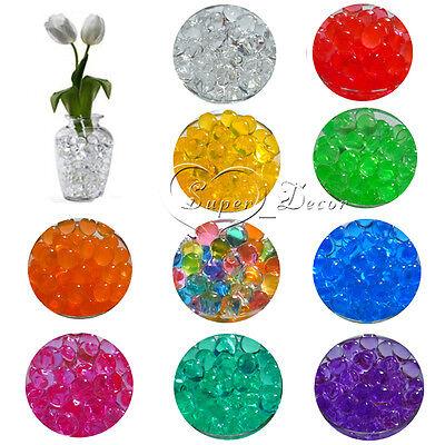 10 Bags Magic Crystal Soil Water Beads Ball Flower Planting Vase Confetti Decor
