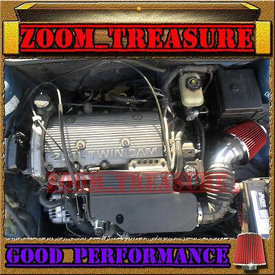 RED 1997-2005//97 98 99 00 01 02-05 BUICK CENTURY 3.1 3.1L V6 AIR INTAKE KIT TB