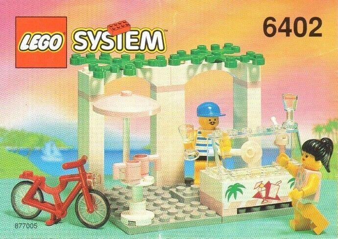 LEGO 6402 Town Town Town   Paradisa - Sidewalk Café - 1994 - NO BOX 73d2d8