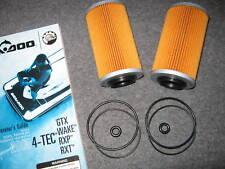 2 SEADOO OIL FILTER O RING 4-Tec GTX RXP RXT GTI GTS WAKE ALL Rotax 1494 1503