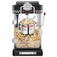 Great Northern Popcorn 2-1/2-ounce Black Tabletop Retro Style Compact Popcorn Po on sale