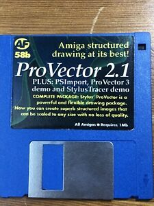 Amiga-Format-Magazine-Demo-Cover-disk-58b-Provector-2-1-TESTED-WORKING