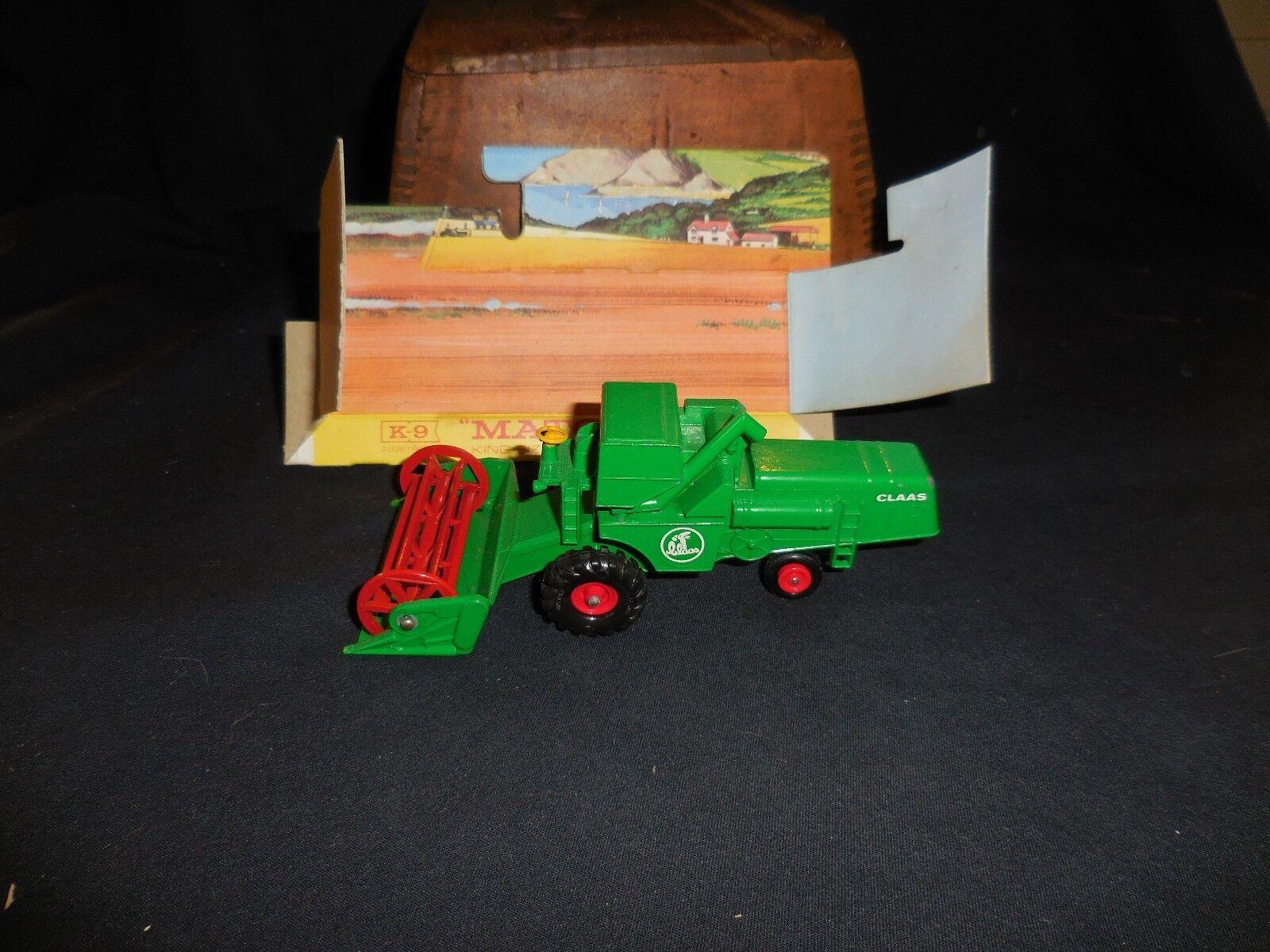 Vintage Matchbox K-9 K-9 K-9 Combine Harvester Insert No Box 140073