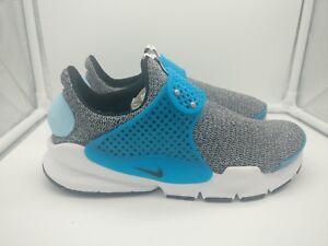 862412 Nike 3 Sock 5 Azul Womens Dart Blanco Negro Uk Se 002 Lagoon ROPqxR