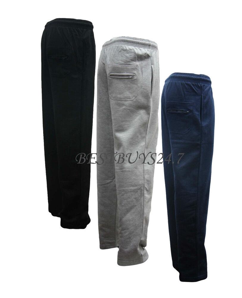 6xl Homme Polaire Jogging Pantalon Survêtement Survêtement Bottoms Nouvelles Tailles Grandes