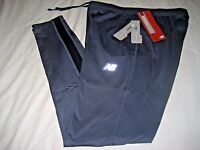 Balance Mens Cold Weather Fabric Running Tights Moisture Wick Grey Blue