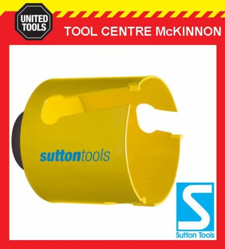 "TCT MULTI-PURPOSE HOLESAW FOR WOOD FIBRE CEMENT ETC 2-1//8/"" SUTTON 54mm"