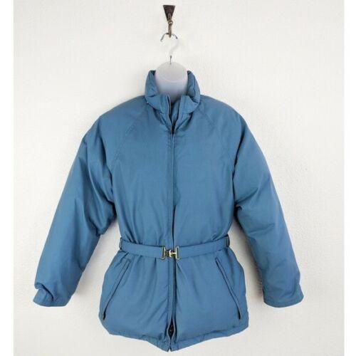 vintage goose down blue frostline puffer jacket si
