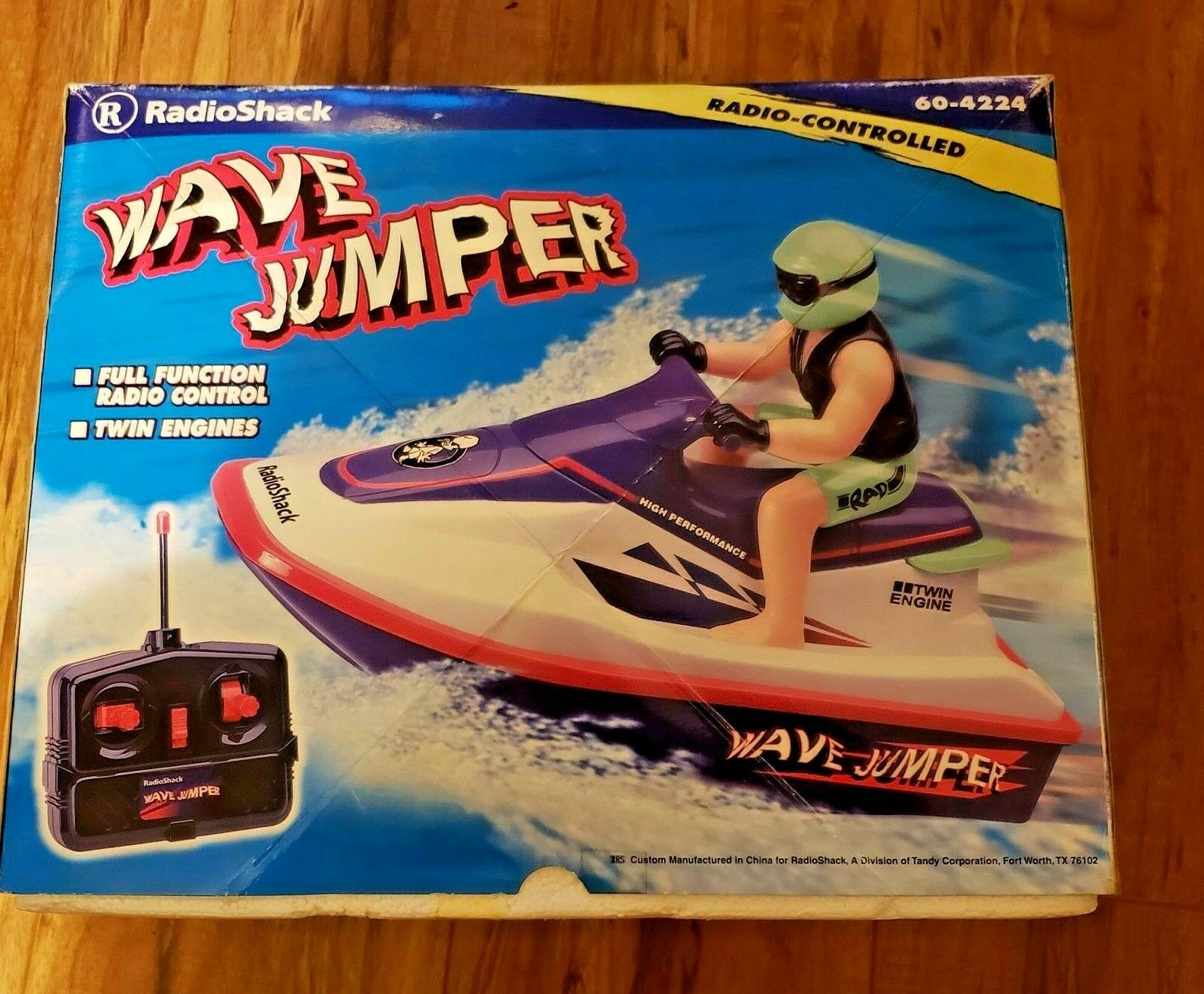 Radioshack Wave Jumper Rc Jetski For Sale Online Ebay