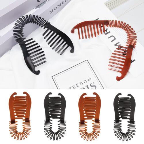 Woman Girls Elastics Hair Braider Scorpion Type Hair Holding Tool Banana Clip