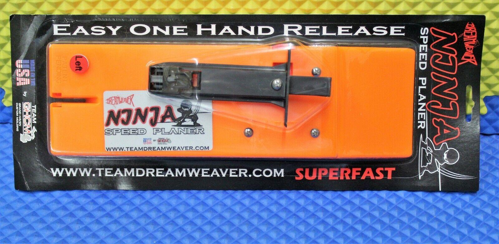 Cepilladora  velocidad Ninja Dreamweaver placa izquierda NJ911-L  compras online de deportes