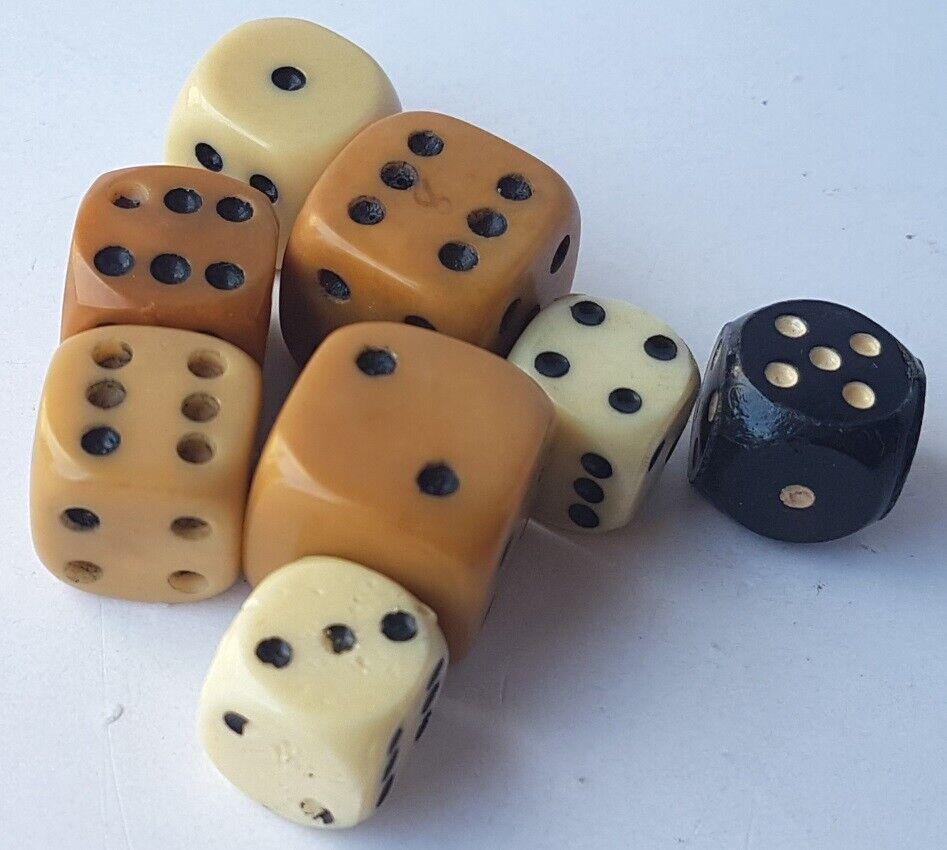 9x Cubo Cubo Cubo Del 1900 - 1930 Al1300 9a52b1