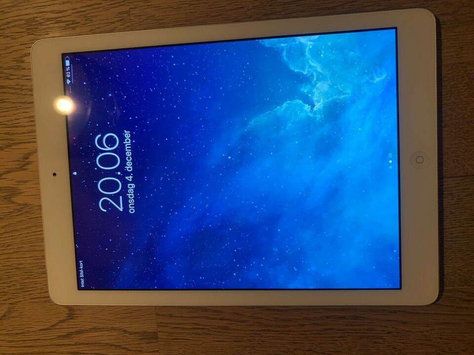 iPad Air, 32 GB, hvid