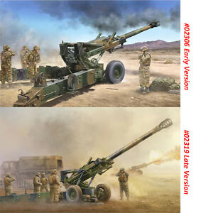 Trumpeter-02306-02319-1-35-M198-155mm-Medium-Towed-Howitzer-Early-Late-Version