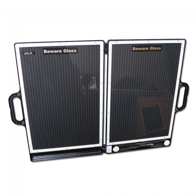 Angling Technics Deluxe Solar Panel 13 Watt Bait Boat Charger  NEW Carp Fishing