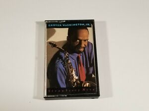 Grover-Washington-JR-Strawberry-Moon-Cassette-1987-CBS-FCT-40510
