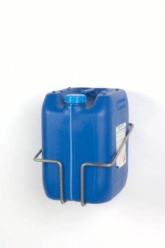 Kanisterhalter aus Edelstahl Halterung für 20-25 Liter Kanister Edelstahlhalter