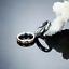Anello-Coppia-Fedi-Fedine-Fidanzamento-Amicizia-Amore-Cuore-spezzato-Love-Regalo miniatura 6