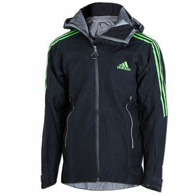adidas Damen Outdoorjacke 3 in 1 Padded Wandertag, Grün, 44