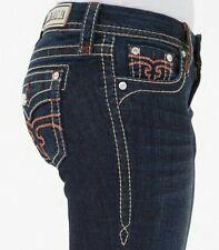 NWOT Buckle Rock Revival Alivia Easy Boot cut dark wash Jean Womens Size 29 $149
