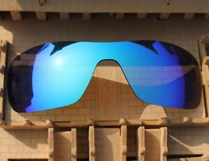 410cfc3ca9 Image is loading ACOMPATIBLE-Polarized-Lenses-Replacement-Blue-for-Oakley- Turbine-