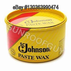 Sc Johnson Paste Wax Polish 1lb Tub Floor Polish Ebay