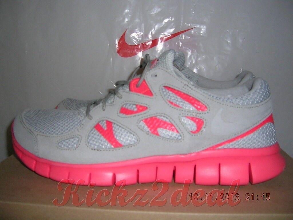 Nuove nike libero 2 ext scarpe da corsa Uomo sz 8 12 grey / rosso cremisi 555174-002