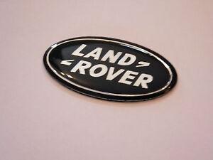 1 x noir chrome autobiographie Noir Ultimate Edition Range Rover Arrière Badge