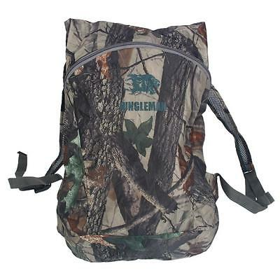 Outdoor Waterproof Bionic Camouflage Pattern Folding Backpack Package Bag Camo