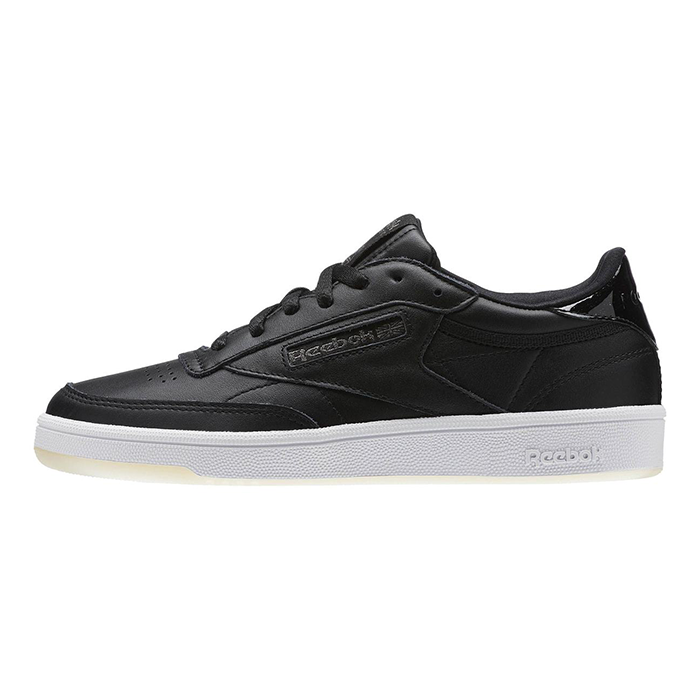New damen Reebok CLUB C 85 MELTED METAL BD5816 schwarz   Weiß US 5.5 - 9.0 TAKSE