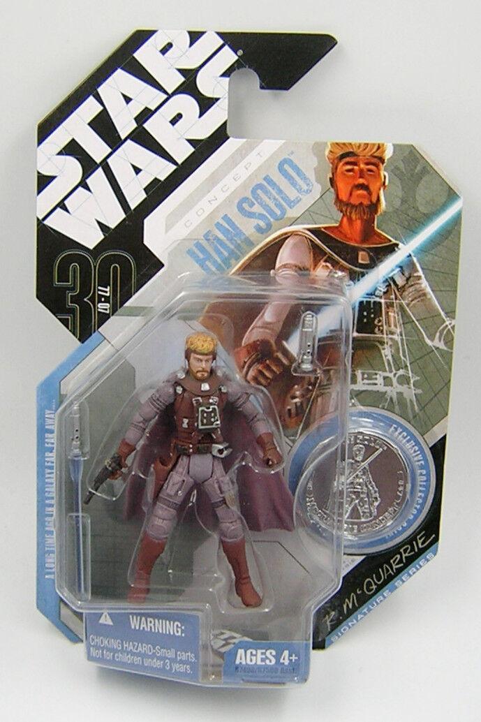 Star Wars 30th Anniversary TAC Concept Han Solo  McQuarrie