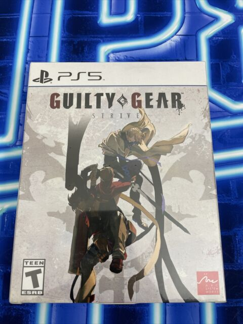 Guilty Gear Strive Ultimate Edition Season 1 Pass PS5 - IN HAND - READY TO SHIP!