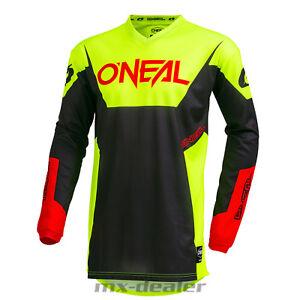 2019-o-039-Neal-Element-Racewear-Giallo-Neon-Jersey-Jersey-Mx-Motocross-MTB-Dh