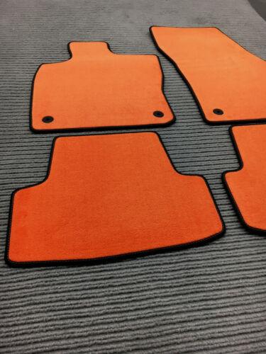 ORANGE $$$ Original Lengenfelder Fußmatten passend für Ford Ranger NEU $$$