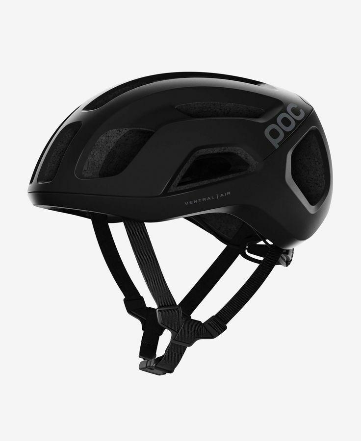 POC ciclismo ventral Giro Ciclismo Casco uranio Negro AIR MATE tamaño de Lrg