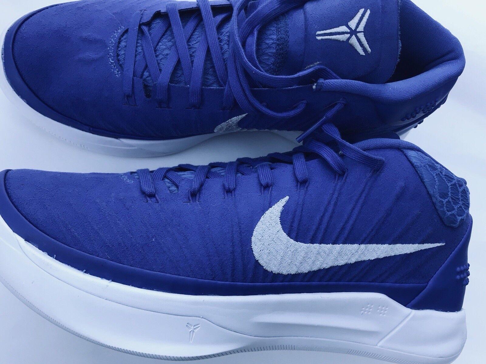 Nike Kobe AD TB Promo Game Royal White Mens Basketball shoes 942521 400 Sz 8.5