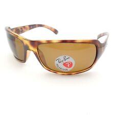 00c6d0d3fd Ray-Ban RB4075 Women s Polarized Rectangular Sunglasses - Tortoise ...