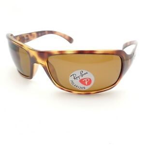 5b399962a4e AUTHENTIC Ray Ban RB 4075 642 57 Havana Brown Polarized New ...