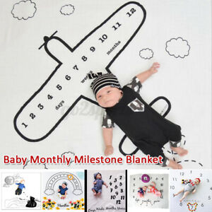 Photography Props Background Blanket For Newborn Baby ly Growth 1-12  AU 1   9