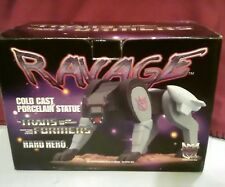 Ravage Transformers Hard Hero Porcelain Statue